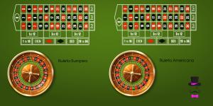 diferencia ruleta americana y europea