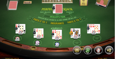 blackjack perfect