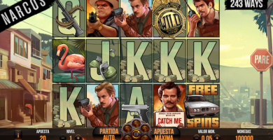 5 slots basados en series